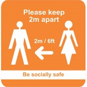 COVID-19 Floor Safety Signs